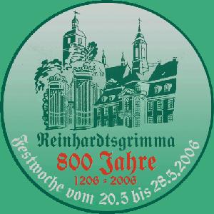 Logo 800 Jahre Reinhardtsgrimma